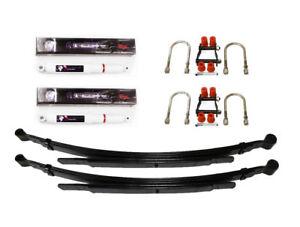 Suspension Kit Rear For Ford Ranger Pickup ER61 2.5TD 16V 06-11 (Springs+Shocks)