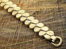 Yellow Gold Filled Vintage Expansion Nos Watch Band Unused Craftex Ring End