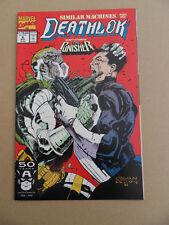 Deathlok 6 . Punisher X-Over . Marvel 1991 . VF +