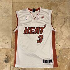 Miami Heat Dwayne Wade NBA Jersey Adidas Size Medium Basketball