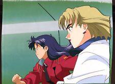 Misato Ritsuko Evangelion original Production anime cel RARE!!