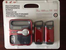 Eton Crank Solar Radio + 2 Hand Crank LED Flashlights USB Cell Phone Charger