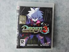 DISGAEA 3 ABSENCE OF JUSTICE - SONY PLAYSTATION 3 PS3 - PAL ITALIANO COME NUOVO