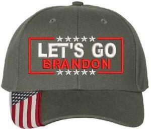 Let's Go Brandon Embroidered Adjustable USA300 Hat, FJB Hat, Joe Biden FU46 R112