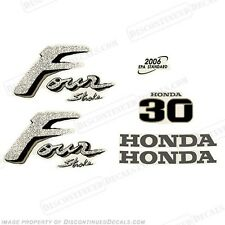 Honda 30hp 4-Stroke Outboard Decal Kit - Reproduction Decals in Stock fourstroke