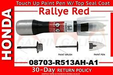 Genuine OEM Honda Touch-Up Paint Pen - R-513 Rallye Red