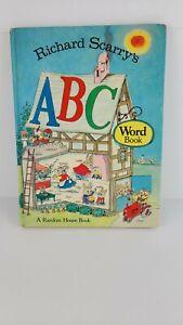Richard Scarrys ABC Word Book 1971 First Edition Hardback Book