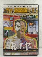 R.I.P DVD Joe Coleman ARTIST DOCUMENTARY - UNDERGROUND CULT PAINTER - ALL REG