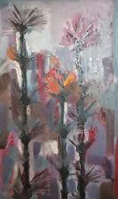 Vintage floral flowers oil painting