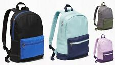 c1a4a3b2197b NWT Old Navy Color-Blocked Canvas Backpack School Bookbag Adjustable Strap  NEW