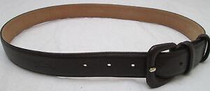 - AUTHENTIQUE  ceinture  LONGCHAMP  Paris  cuir TBEG  vintage