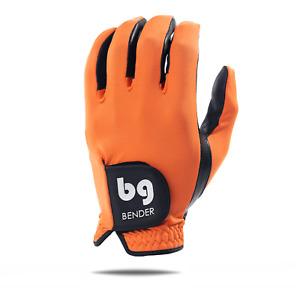 Orange Spandex Golf Glove