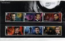 2020 James Bond Presentation Pack with Mini Sheet