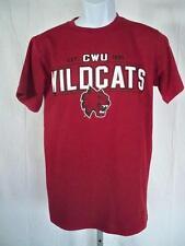New-Minor Flaw-Cwu Wildcats Homme S Bordeaux Chemise par J America