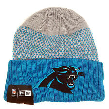 huge discount 0d717 c181b NFL CAROLINA PANTHERS New Era Cozy Cover Cuffed Knit Hat