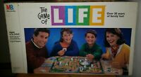 Vintage The Game Of Life Board game 1991 By Milton Bradley 100% Complete