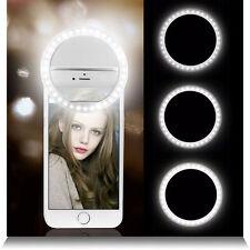Portatile Selfie 36 LED Flash anulare luce di riempimento Clip fotocamera per iPhone Samsung HTC