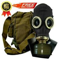 Black Gas Mask GP-5 Rare | FREE delivery | FULL set | S, M, L, XL, XXL sizes