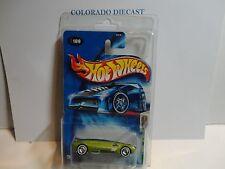 2004 Hot Wheels Treasure Hunt #109 Green Whip Creamer II w/Real Riders