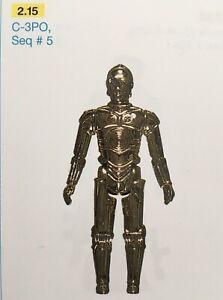 STARWARS C-3PO solid limbs Seq # 5 Star Wars Vintage Original Kenner 1977