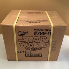 Star Wars Candy Conteneur With collector Cars déballés carton 24x12 personnages