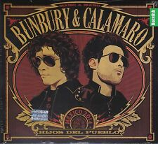 Bunbury & Calamaro Mexico 2014 Hijos del Pueblo CAJA DE CARTON CD New Nuevo