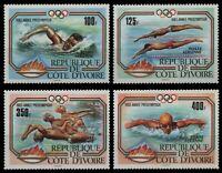 Elfenbeinküste 1983 - Mi-Nr. 787-790 ** - MNH - Olympia