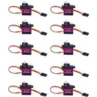 10 MG90S Metal Gear High Speed Micro Servo 9g für RC Plane Helicopter Boat Auto