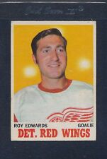 1970/71 OPC O-Pee-Chee #021 Roy Edwards Red Wings VG *4