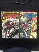 lot of 2 Amazing Spider-Man #230-231 Juggernaut App