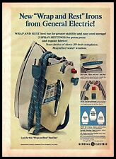 1969 General Electric Wrap and Rest Clothing Iron Vintage Photo PRINT AD 1960s