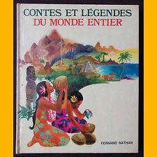 CONTES ET LÉGENDES DU MONDE ENTIER Yvon le Gall 12 contes 1972