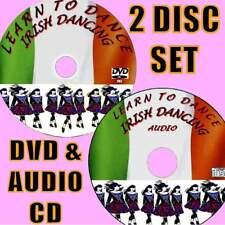 IRISH DANCE GUIDE REELS/JIGS FOR BEGINNERS VIDEO DVD + AUDIO CD BASIC SKILLS NEW