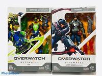 "Overwatch Ultimates Series Blackwatch Reyes & Lucio Lot2 Video Game 6"" Figure"