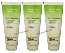 Smith & Nephew Secura Dry Skin Protective Moisturizing Cream 6.5oz (3 Tubes)