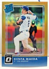 Kenta Maeda 2016 Donruss Optic Rated Rookie GOLD Holo Refractor RC #'d 5/10