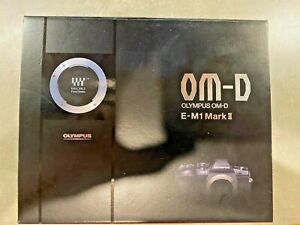 Olympus OM-D E-M1 Mark II 20.4 MP (Body Only) 3,147 Shutter Activations