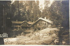 15558 Foto AK Böhmische Schweiz Balzhütte 1928 Böhmen