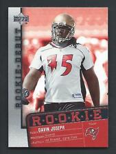 Davin Joseph 2006 Upper Deck Rookie Debut Rookie Card #189; NM-Mint; Buccaneers