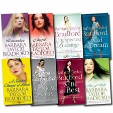 Barbara Taylor Bradford Collection 8 Books Set Pack   Barbara Taylor Bradford