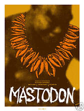 Mastodon May 2009 Limited Edition Concert Gig Poster