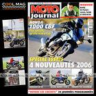 MOTO JOURNAL N°1697 SUZUKI GSF 1200 BANDIT S RANDY DE PUNIET HONDA CBF 1000 2006