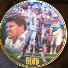 DAN MARINO 1996 Bradford Exchange Limited Plate Quarterback Club RARE