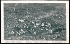 ROCHESTER NY Eastman Kodak Company Park Works Vtg RPPC Postcard Factory Photo PC