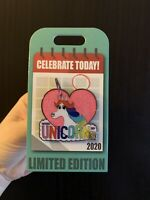 Disney Parks Rainbow Unicorn-Inside Out-National Unicorn Day 2020 Pin, Sparkly