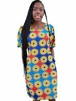 African Sparkling Dress