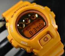 RARE! Yellow Casio G-Shock Metallic Colors Men's Watch DW-6900SB-9 NEW BATTERY!