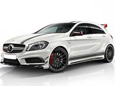 Mercedes W176 A Class AMG A45 Edition 1 Stripes Strips Stickers Bonnet Hood Roof