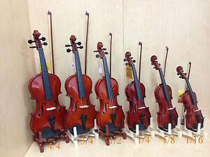 Caraya 1/16 Size Violin+Rosin,Chin-rest,Spare String Set,Foam Hard Case,Bow