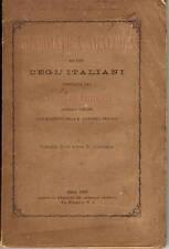 Libro Grammatica Araldica ad Uso Italiani Accademia Araldica Pisa Tribolari 1847